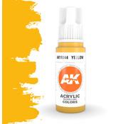 AK interactive Yellow Acrylic Modelling Colors - 17ml - AK11044