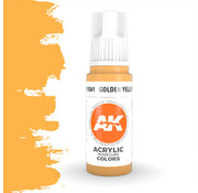 AK interactive Golden Yellow Acrylic Modelling Colors - 17ml - AK11041