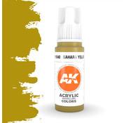 AK interactive Sahara Yellow Acrylic Modelling Colors - 17ml - AK11040
