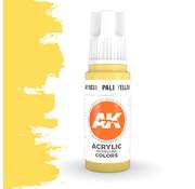 AK interactive Pale Yellow Acrylic Modelling Colors - 17ml - AK11038