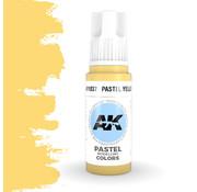 AK interactive Pastel Yellow Pastel Modelling Colors - 17ml - AK11037