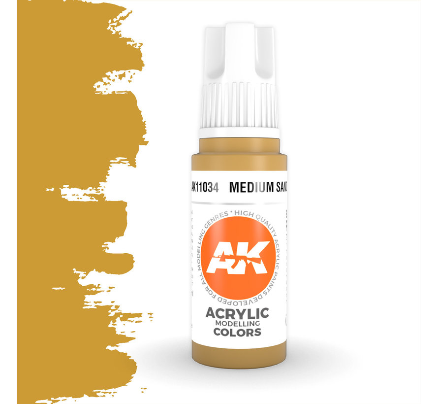 Medium Sand Acrylic Modelling Colors - 17ml - AK11034