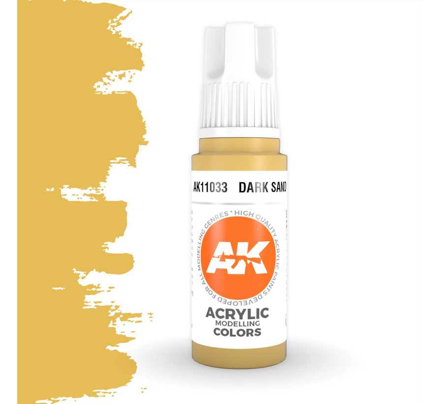 Dark Sand Acrylic Modelling Colors - 17ml - AK11033