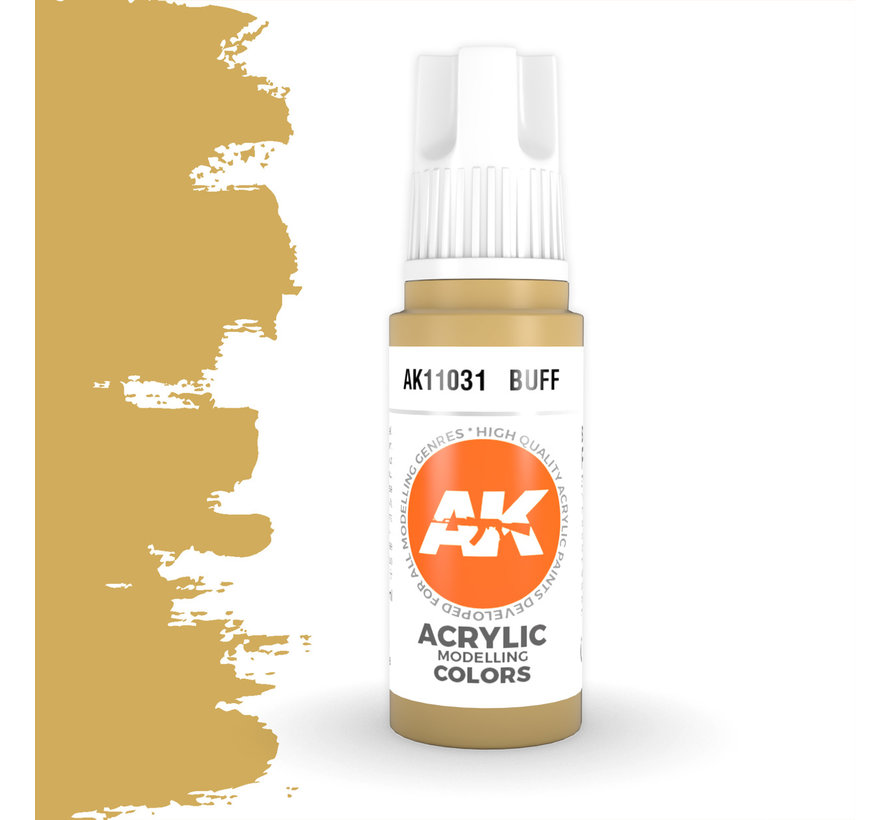 Buff Acrylic Modelling Colors - 17ml - AK11031