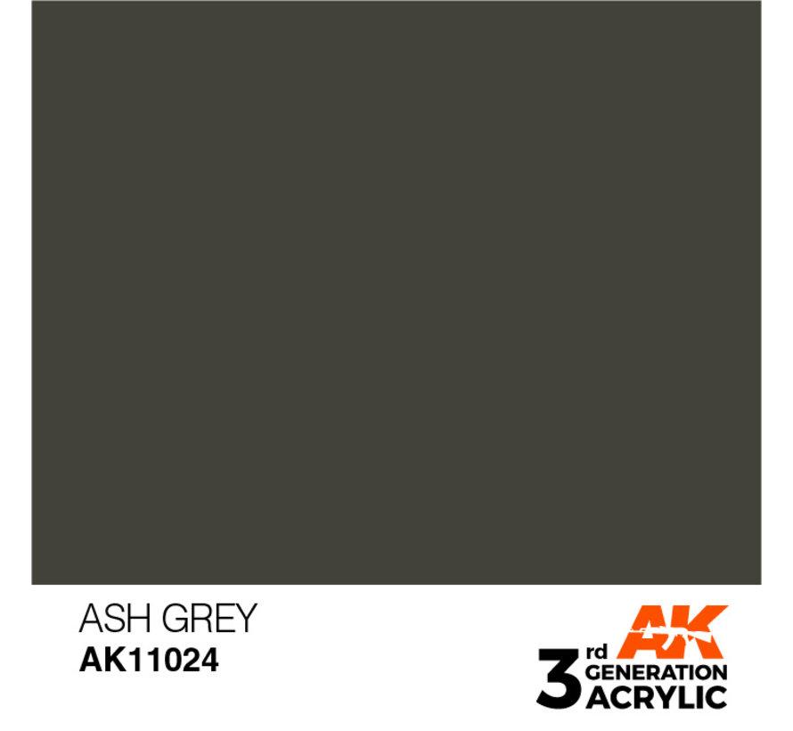 Ash Grey Acrylic Modelling Colors - 17ml - AK11024