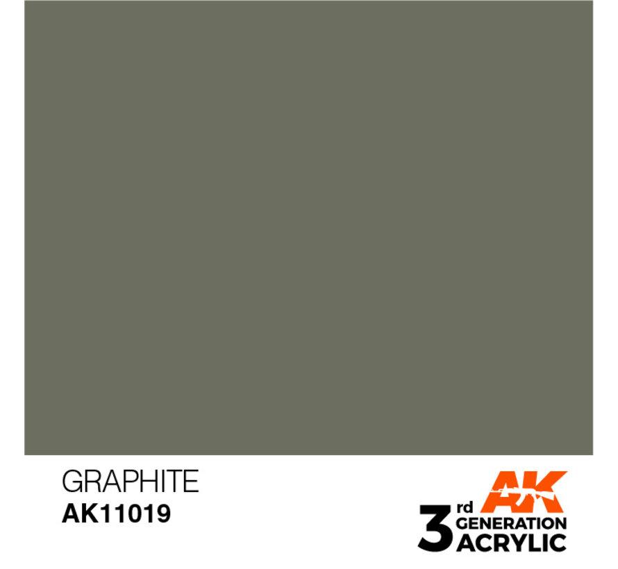 Graphite Acrylic Modelling Colors - 17ml - AK11019