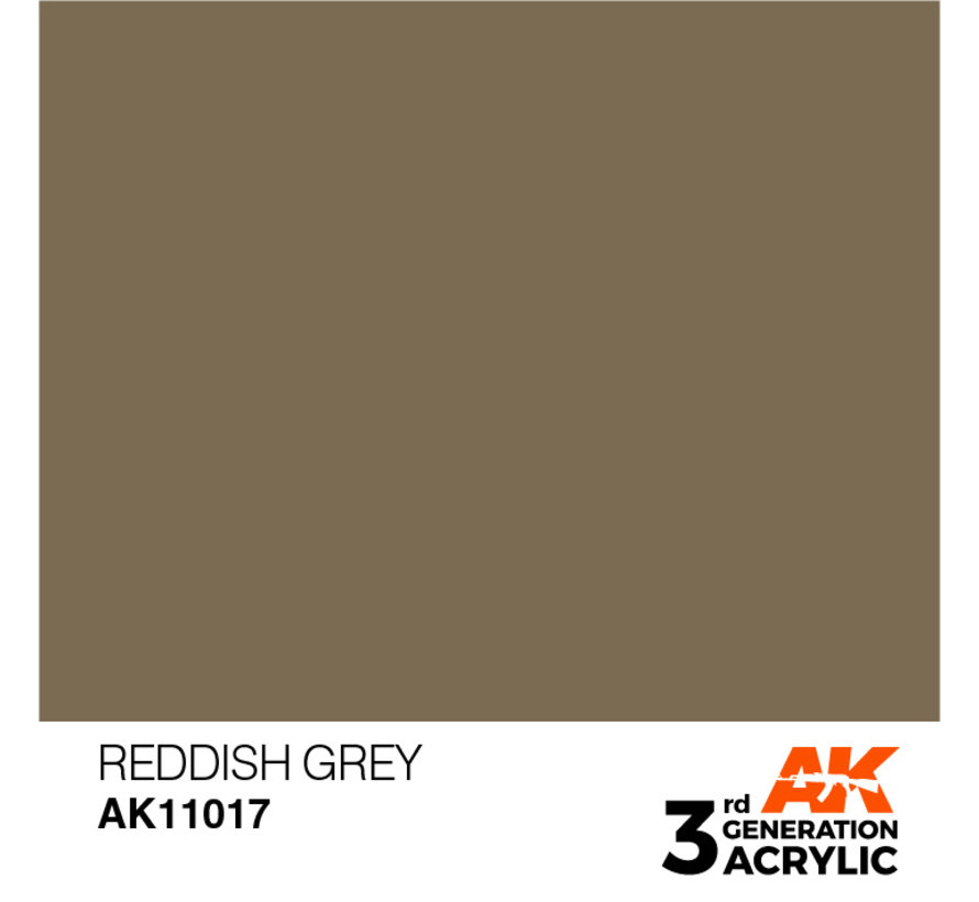 Reddish Grey Acrylic Modelling Colors - 17ml - AK11017