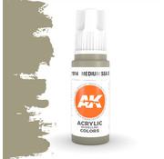 AK interactive Medium Sea Grey Acrylic Modelling Colors - 17ml - AK11014