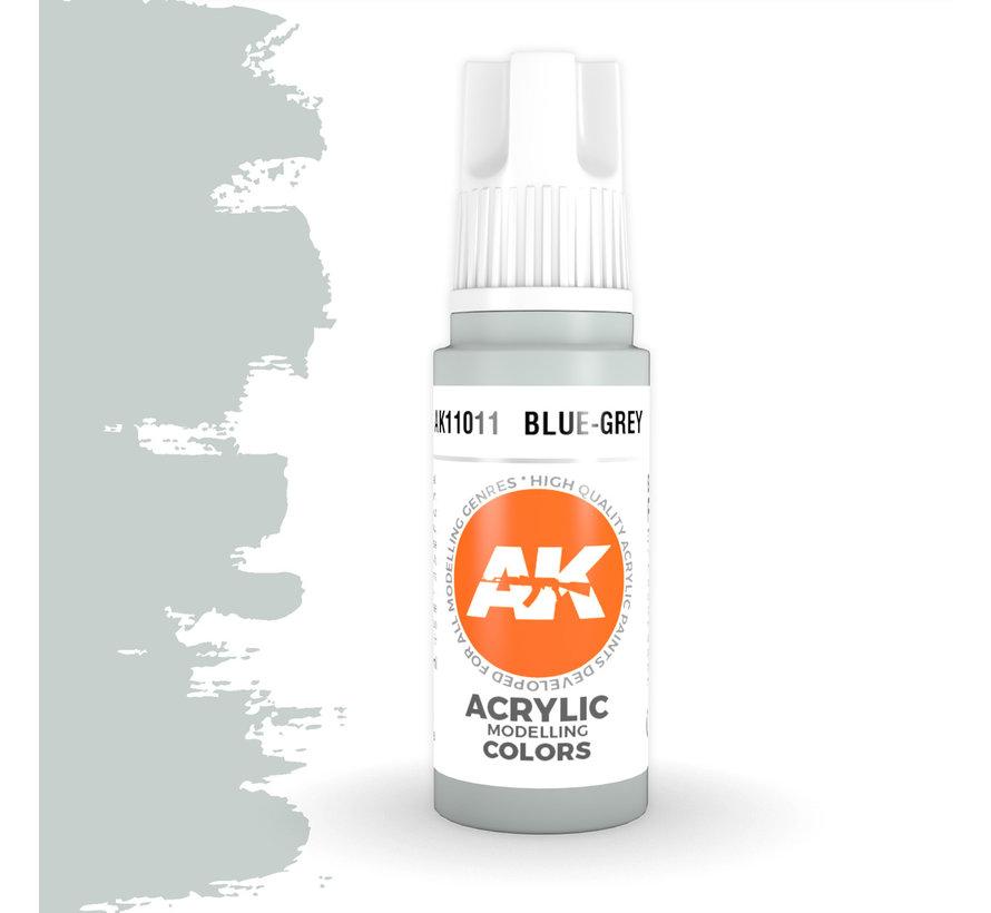 Blue Grey Acrylic Modelling Colors - 17ml - AK11011