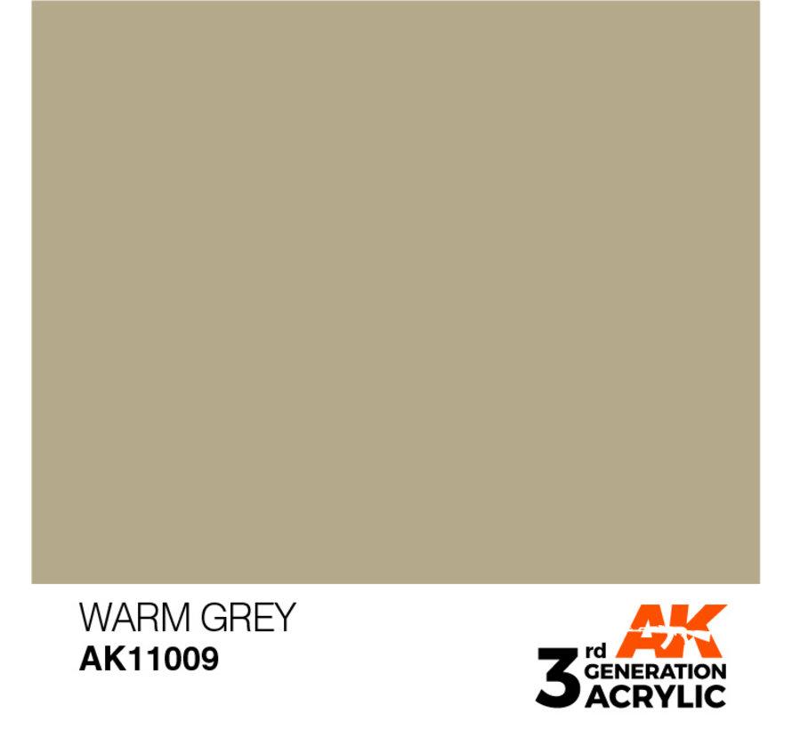 Warm Grey Acrylic Modelling Colors - 17ml - AK11009