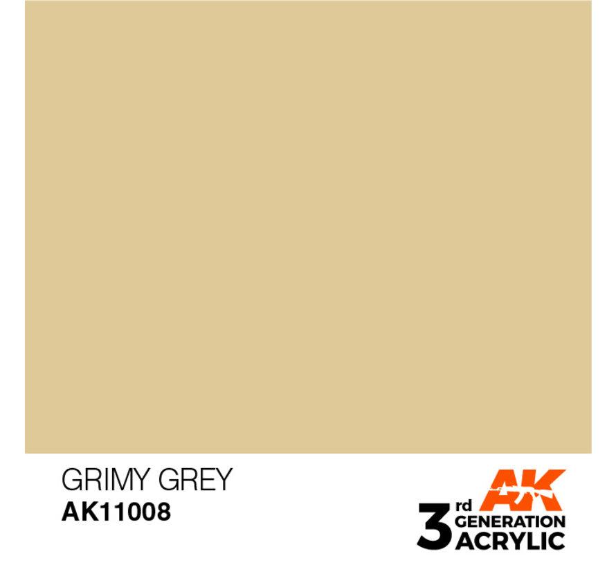 Grimy Grey Acrylic Modelling Colors - 17ml - AK11008