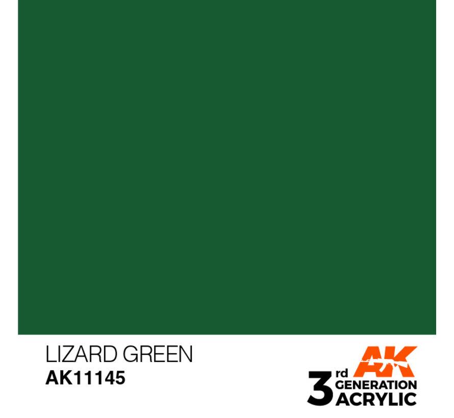 Lizard Green Acrylic Modelling Colors - 17ml - AK11145