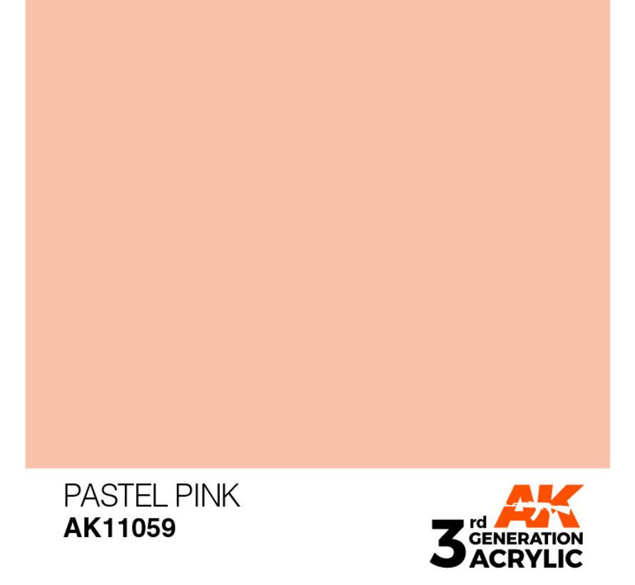 Pastel Pink Pastel Modelling Colors - 17ml - AK11059
