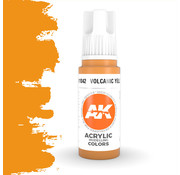 AK interactive Volcanic Yellow Acrylic Modelling Colors - 17ml - AK11042