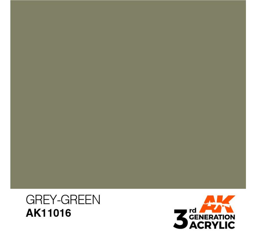 Grey Green Acrylic Modelling Colors - 17ml - AK11016