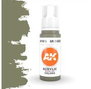 AK interactive Grey Green Acrylic Modelling Colors - 17ml - AK11016