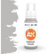 AK interactive Sky Grey Acrylic Modelling Colors - 17ml - AK11012