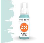 AK interactive Snow Blue Acrylic Modelling Colors - 17ml - AK11174