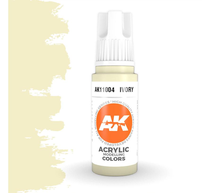 Ivory Acrylic Modelling Colors - 17ml - AK11004