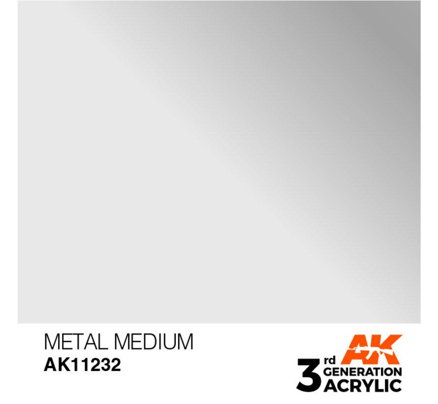 Metal Medium - 17ml - AK11232