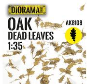 AK interactive Lasercut Leaves Oak Dead Leaves 1:35 - AK8108