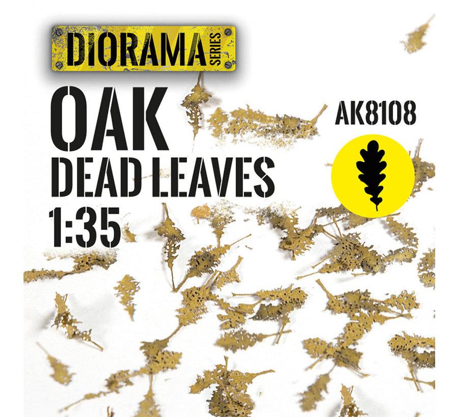 Lasercut Leaves Oak Dead Leaves 1:35 - AK8108