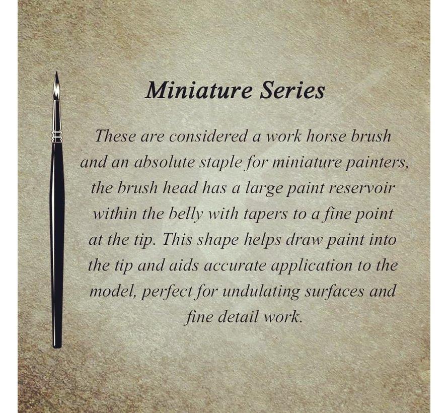 MK3 Miniature Series 3/0 penseel - BT-MSB004