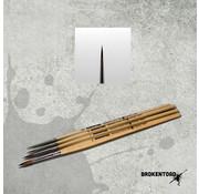 Brokentoad MK3 Miniature Series 0 penseel - BT-MSB003
