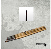 Brokentoad MK3 Miniature Series 2 penseel - BT-MSB001