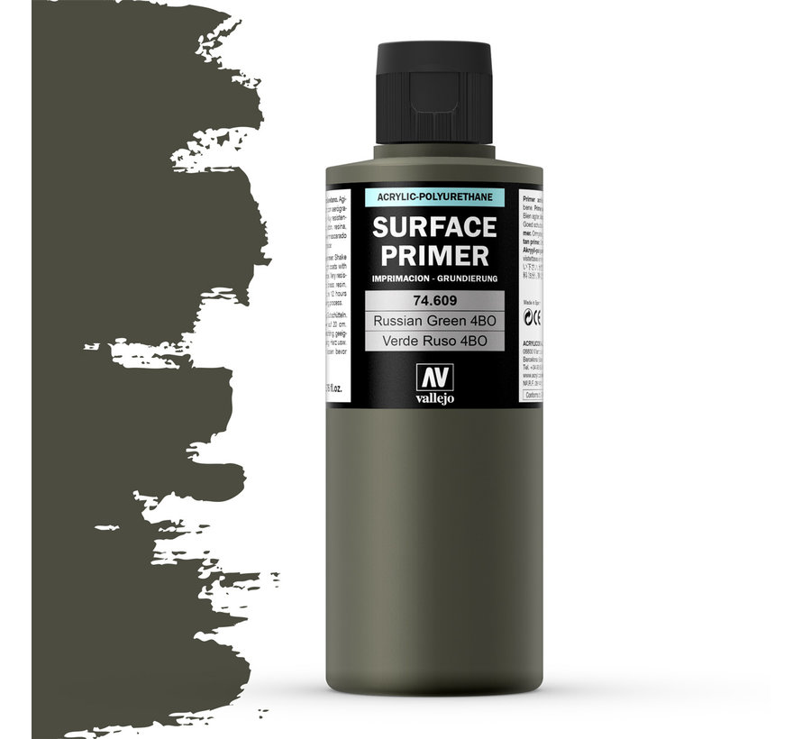 Surface Primer Russian Green 4BO - 200ml - 74609