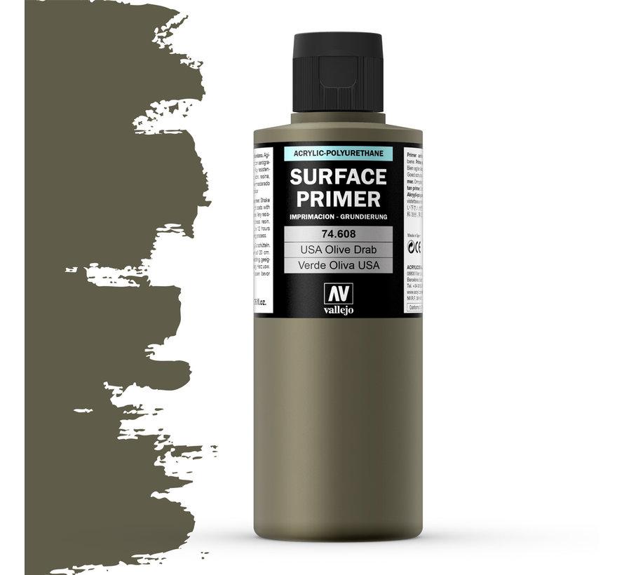 Surface Primer USA Olive Drab - 200ml - 74608