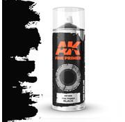 AK interactive Fine Primer Black Spray - 400ml - AK1009