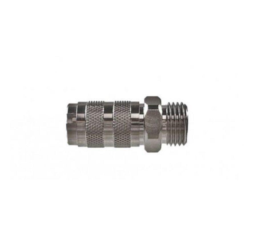 Airbrush snelkoppeling 1/8 buitendraad - 104403