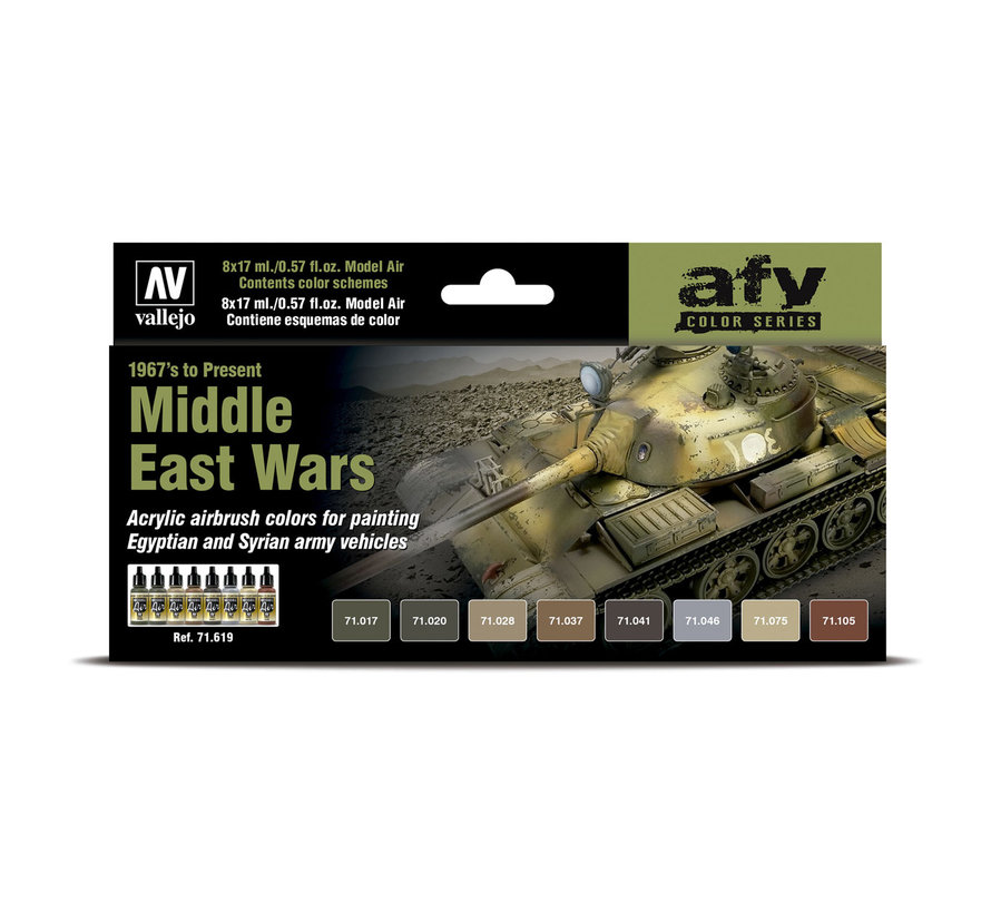 Model Air AFV Series Middle East Wars (1967's tot heden) - 8 kleuren - 17ml - 71619