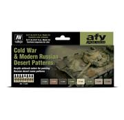 Vallejo Model Air AFV Series Cold War & Modern Russian Desert Patterns - 8 kleuren - 17ml - 71620