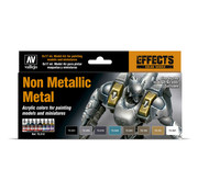 Vallejo Game Color Non Metallic Metal NMM - 8 kleuren - 17ml - 72212
