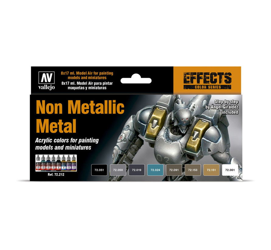 Game Color Non Metallic Metal NMM - 8 kleuren - 17ml - 72212