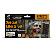 Vallejo Game Effects Special Effects Set - 8 kleuren - 17ml - 72213