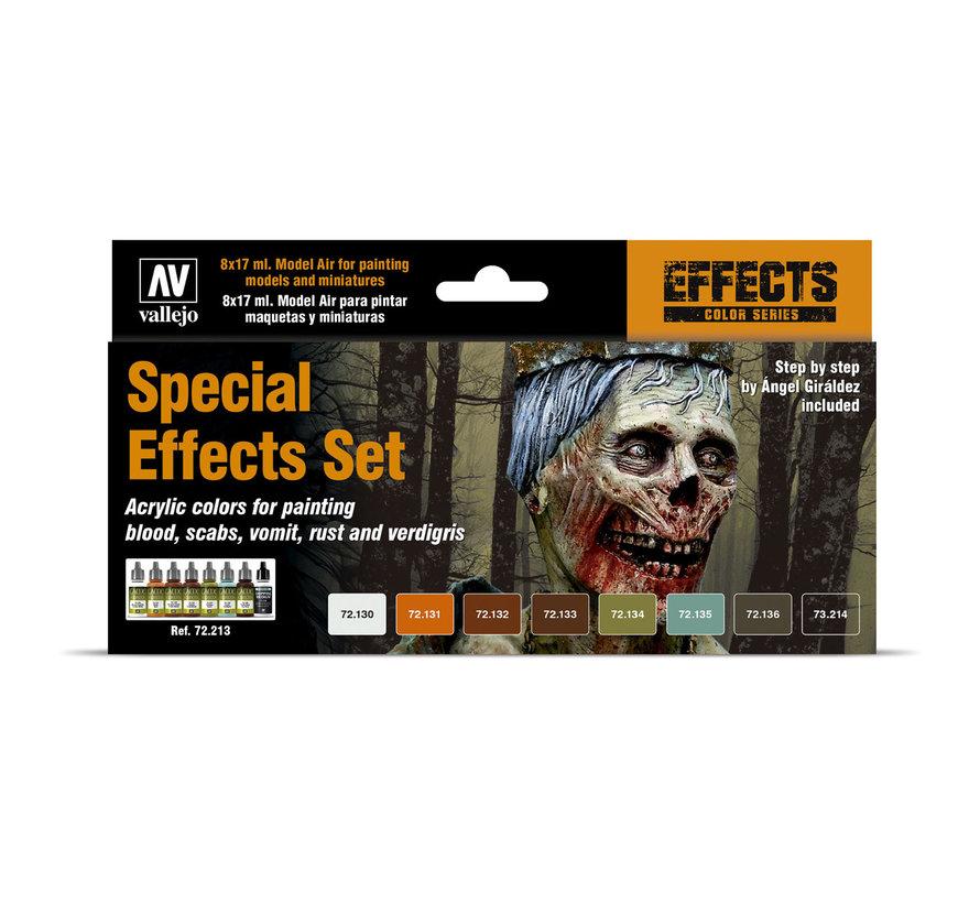 Game Effects Special Effects Set - 8 kleuren - 17ml - 72213