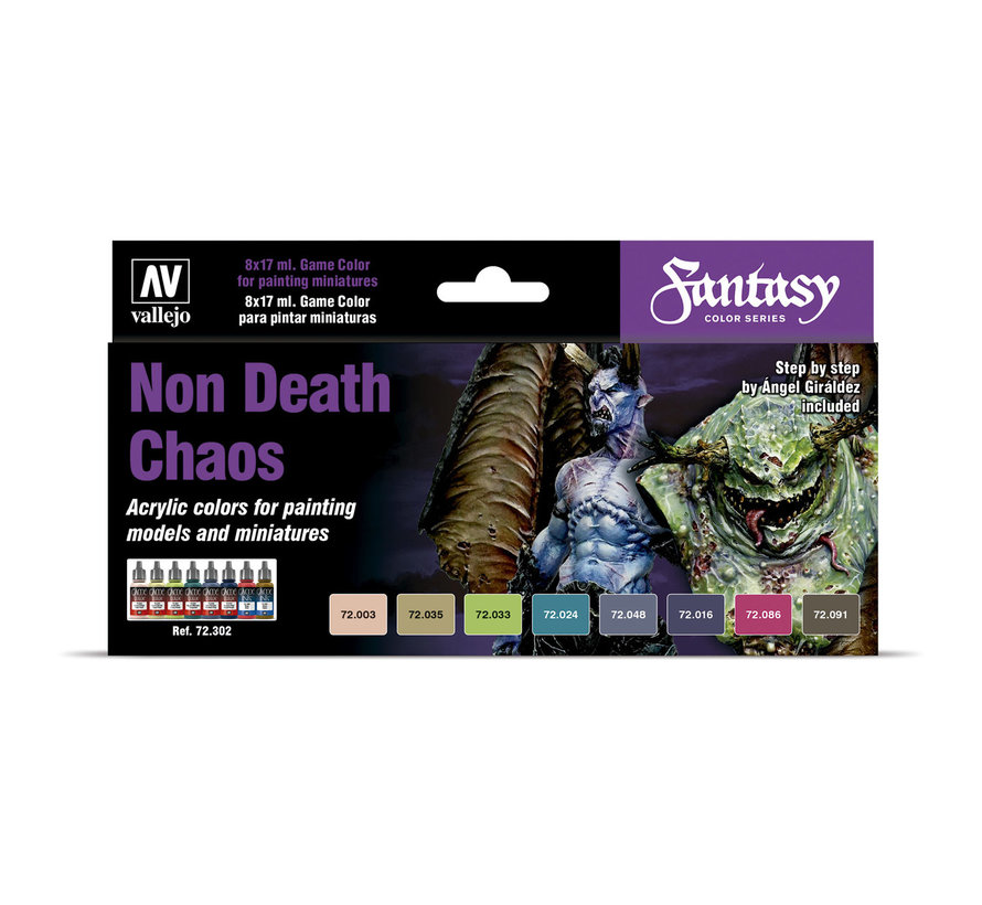 Game Color Set Non Death Chaos - 8 kleuren - 17ml - 72302