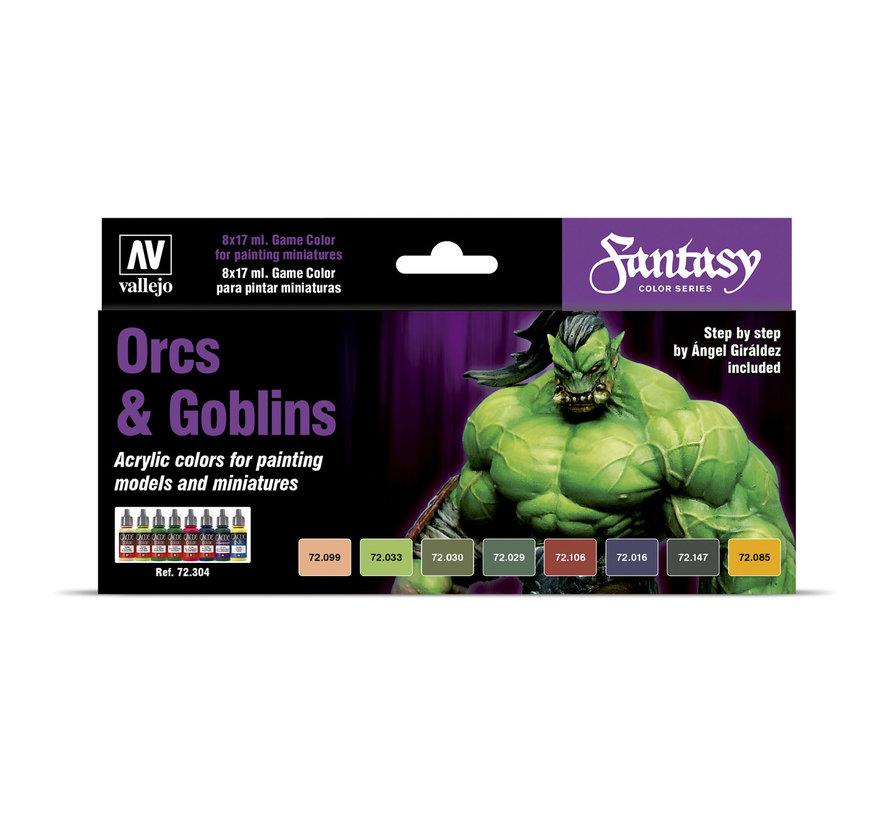 Game Color Orcs and Goblins - 8 kleuren - 17ml - 72304