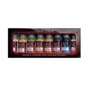 Vallejo Game Color Skin Color set - 8 kleuren - 17ml - 72295