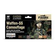 Vallejo Model Color Waffen-SS Camouflage - 8 kleuren - 17ml - 70180