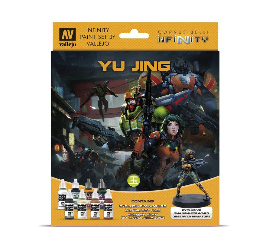 Model Color Infinity Yu Jing - 8 kleuren - 17 ml - 70235