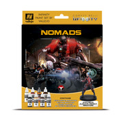 Vallejo Model Color Infinity Nomads - 8 kleuren - 17ml - 70233