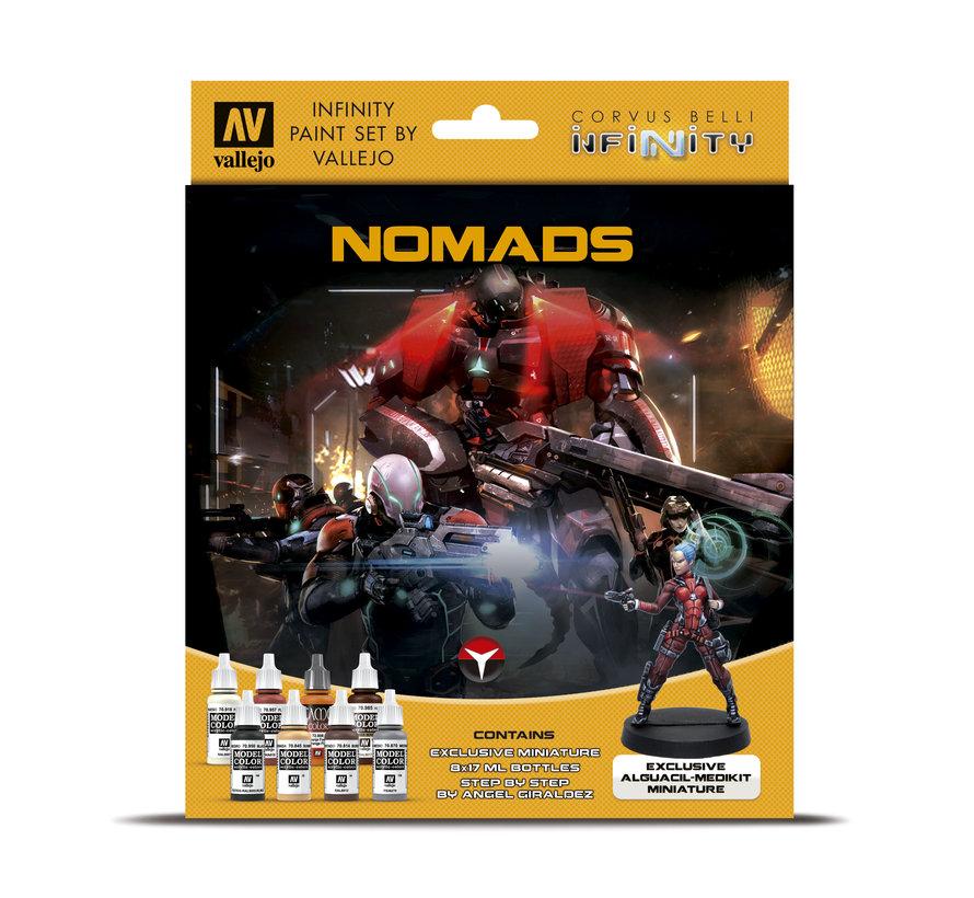 Model Color Infinity Nomads - 8 kleuren - 17ml - 70233