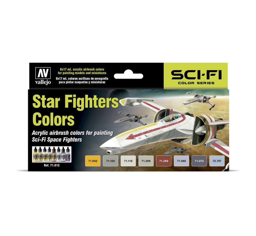 Model Air Star Fighters Colors - 8 kleuren - 17ml - 71612