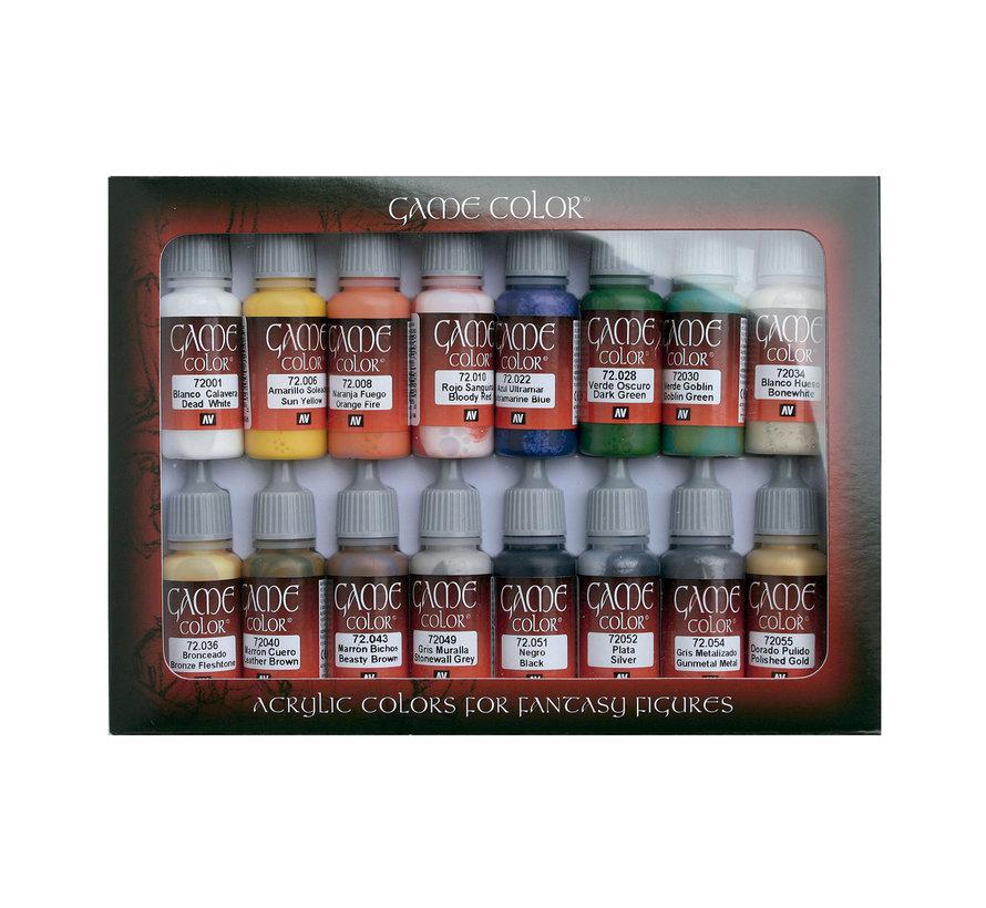 Game Color Intro Set - 16 kleuren - 17ml - 72299