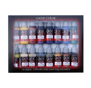 Vallejo Game Color Set Advanced - 16 kleuren - 17ml - 72298