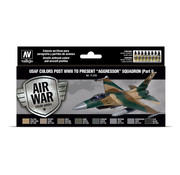 Vallejo Model Air - Air War - USAF colors post WWII to present Aggressor Squadron Part I - 8 kleuren - 17ml - VAL-71616